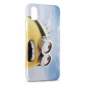 Coque iPhone X & XS Minion Sky