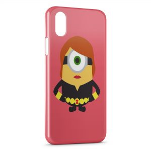 Coque iPhone X & XS Minion Style 1