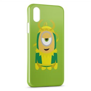 Coque iPhone X & XS Minion Style 2