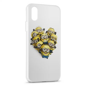 Coque iPhone X & XS Minions 3