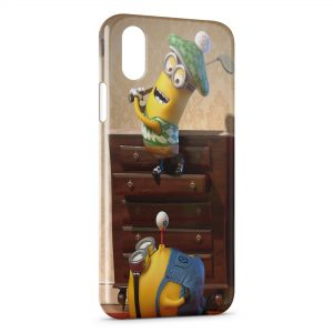 Coque iPhone X & XS Minions 4