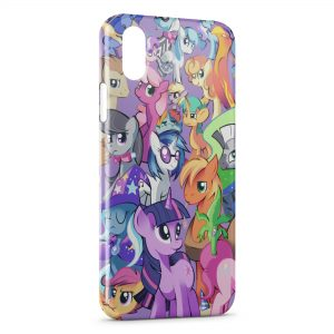 Coque iPhone X & XS Mon Petit Poney 2 Art