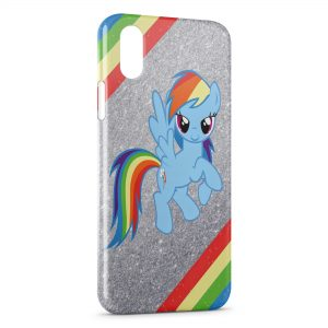 Coque iPhone X & XS Mon Petit Poney 3 Art