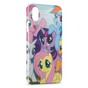 Coque iPhone X & XS Mon Petit Poney Little animation