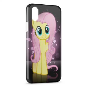 Coque iPhone X & XS Mon Petit Poney Pink Art