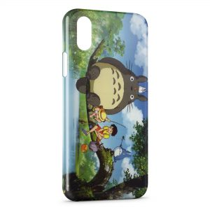 Coque iPhone X & XS Mon voisin Totoro Manga Anime