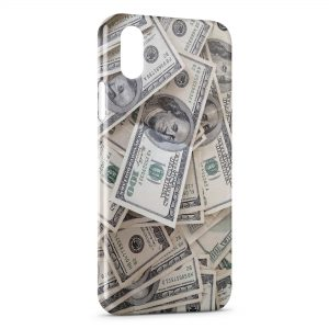 Coque iPhone X & XS Money Dollars 100