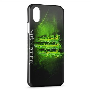 Coque iPhone X & XS Monster Energy