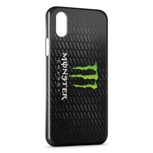 Coque iPhone X & XS Monster Energy 2