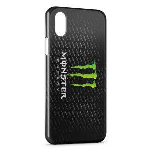Coque iPhone X & XS Monster Energy 2