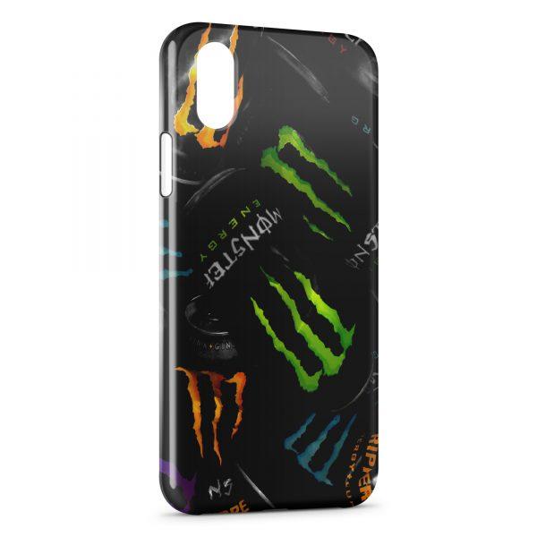 Coque iPhone X & XS Monster Energy 3