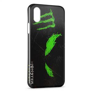 Coque iPhone X & XS Monster Energy 4