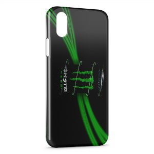 Coque iPhone X & XS Monster Energy 5