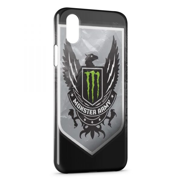 coque iphone x monster