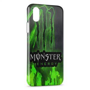 Coque iPhone X & XS Monster Energy Logo 3