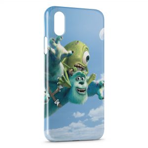 Coque iPhone X & XS Monstre & compagnie Cartoon