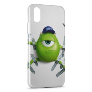 Coque iPhone X & XS Monstre et Compagnie 5