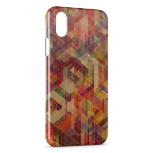 Coque iPhone X & XS Multicolor Style