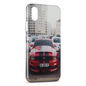 Coque iPhone X & XS Mustang Style