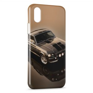 Coque iPhone X & XS Mustang Style voiture