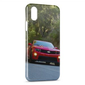Coque iPhone X & XS Mustang Voiture