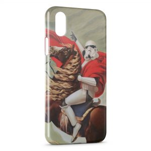 Coque iPhone X & XS Napoléon Star Wars