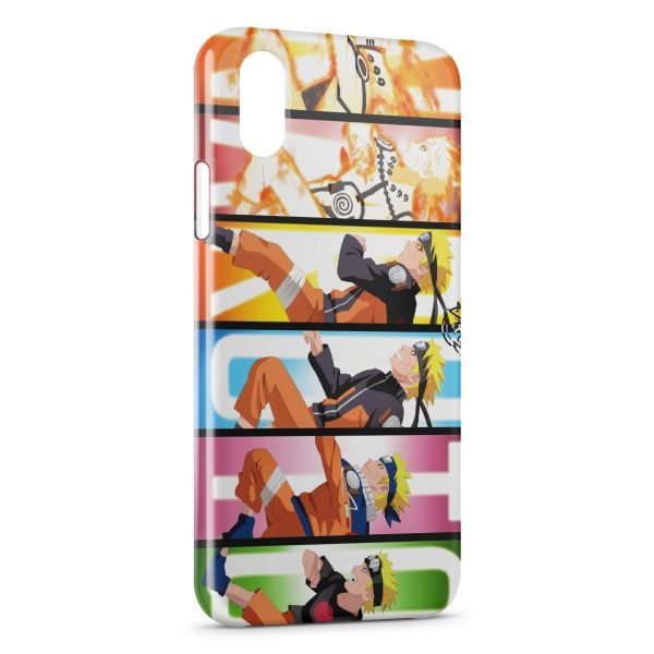 Coque iPhone X & XS Naruto 4