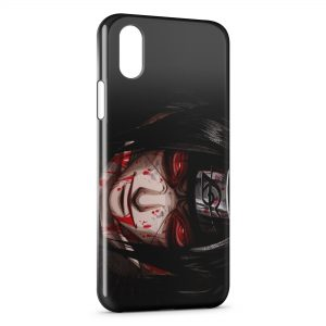 Coque iPhone X & XS Naruto Itachi Manga Anime