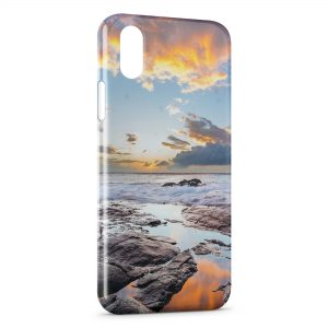 Coque iPhone X & XS Nature & Sunset