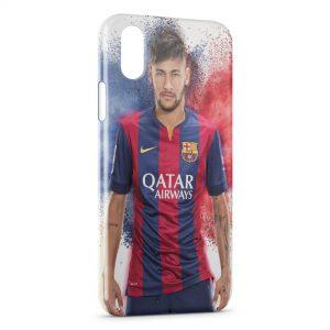 Coque iPhone X & XS Neymar FC Barcelone 6