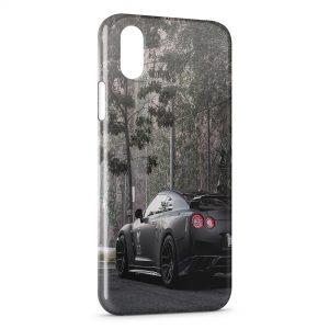 Coque iPhone X & XS Nissan Voiture