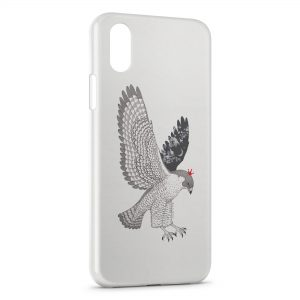 Coque iPhone X & XS Oiseau Design Style