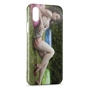 Coque iPhone X & XS Olivia Wilde 2