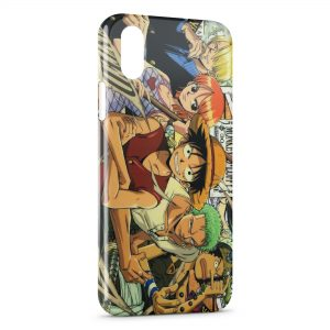 Coque iPhone X & XS One Piece 5