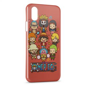 Coque iPhone X & XS One Piece Manga 12