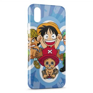 Coque iPhone X & XS One Piece Manga 15