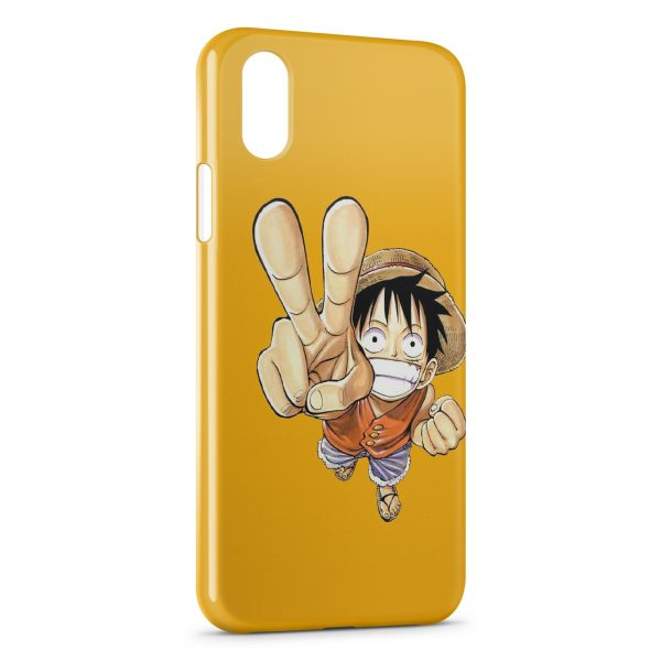 Coque iPhone X & XS One Piece Manga 16