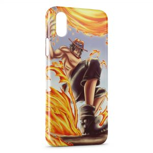 Coque iPhone X & XS One Piece Manga 21