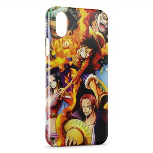Coque iPhone X & XS One Piece Manga 23