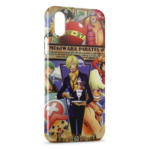 Coque iPhone X & XS One Piece Manga 30