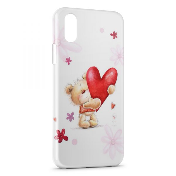 coque coeur iphone xs
