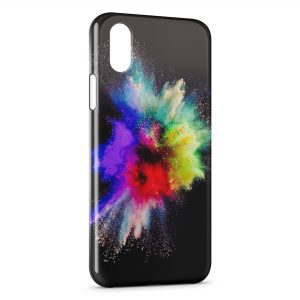 Coque iPhone X & XS Painted Explosion
