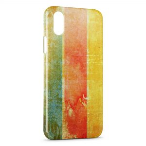 Coque iPhone X & XS Painted Wall