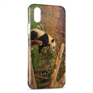 Coque iPhone X & XS Panda 2