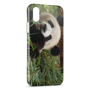 Coque iPhone X & XS Panda 3