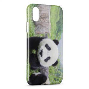 Coque iPhone X & XS Panda 5