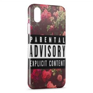 Coque iPhone X & XS Parental Advisory Explicit Content