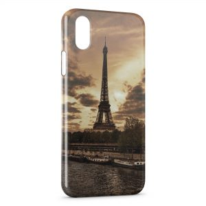 Coque iPhone X & XS Paris Tour Eiffel