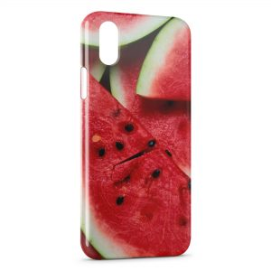 Coque iPhone X & XS Pasteque