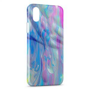 Coque iPhone X & XS Peinture Style 4
